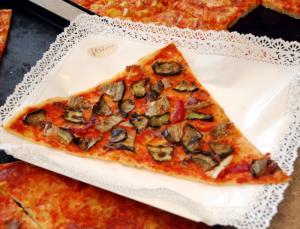 Pizza a spicchi farcita